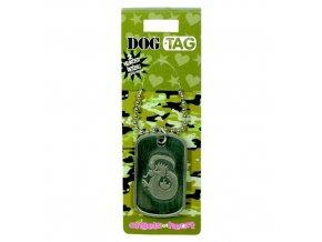 Dog Tag / psí známky čínské znamení - DRAK