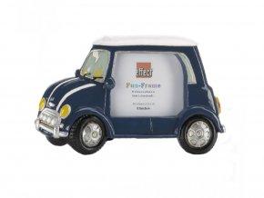 Rámeček Fun Frame - Modré auto 8,5x6,5cm