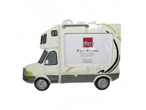 Rámeček Fun Frame - Bílý karavan 12,5x8,5cm