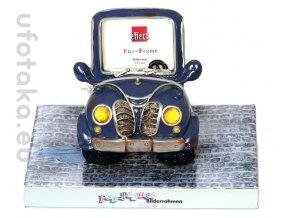 Rámeček Fun Frame - modré auto 3D 7,5x5cm
