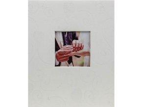 Fotoalbum na růžky 20 stran - Fandy decorative černobílé