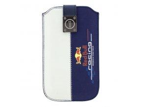 Pouzdro na mobil , Red Bull Racing, bílo-modré, velikost M