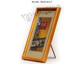 Fotorámeček 24x30 dřevěný CODEX zaoblený - různé barvy