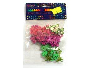 Samolepky květy 076