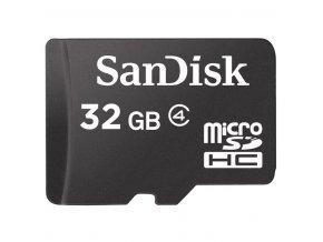 SanDisk microSDHC Card 32 GB class 4