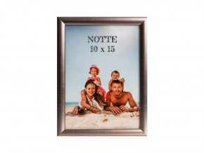 Fotorámeček 10x15 NOTTE 01 plast ocelový