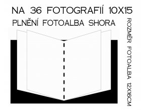 Fotoalbum 10x15/36 TULIPÁN