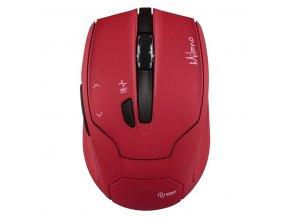 Myš optická bezdrátová MILANO červená