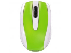 Myš optická AM-7200 bílo-zelená
