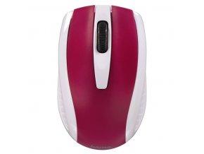 Myš optická AM-7200 bílo-červená