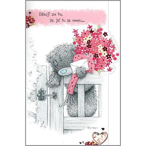 Valentýnské přání Me to You - Děkuji za to, že jsi tu se mnou...