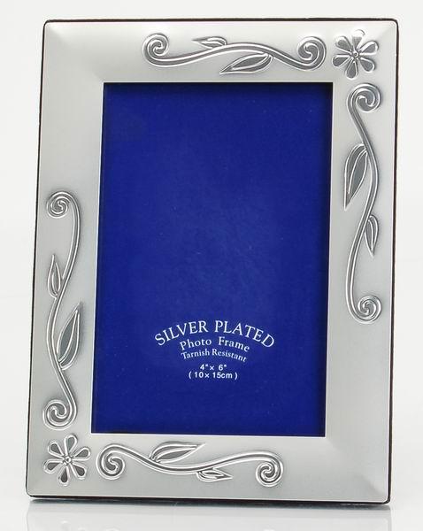 Fotorámeček 10x15 cm, stříbrný - GLOSSY 46 6