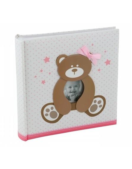 Exkluzivní dětské fotoalbum 10x15/200 foto SWEETY růžové