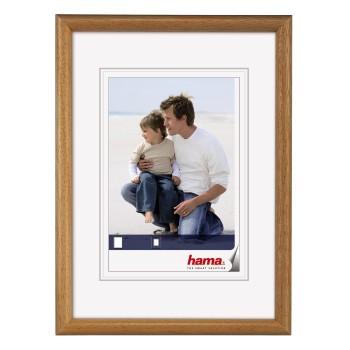 Fotorámeček 13x18 dřevěný HAMA - korek
