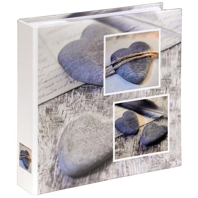 Fotoalbum 10x15/200 - Hama Catania šedé (srdce)