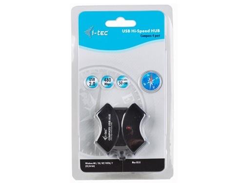 HUB COMPASS USB 2.0 Hub 4-Port, i-tec