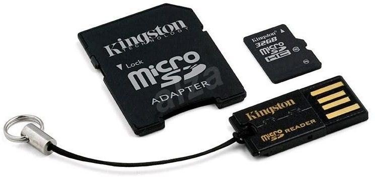 Paměťová karta Kingston micro SDHC, 32GB CLASS 10