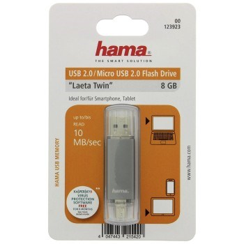 USB FLASH Laeta Twin 8GB duo