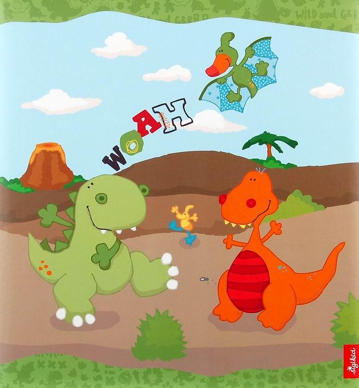 Dětské fotoalbum na růžky 60 stran dinosauři