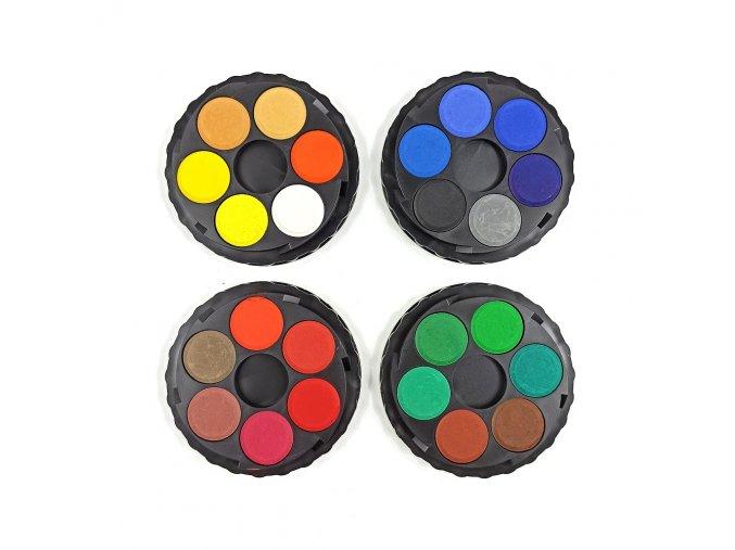 KOH-I-NOOR vodové barvy 24