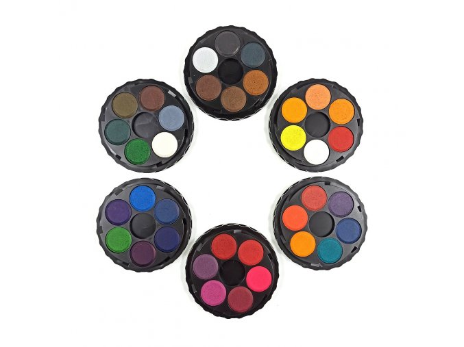 KOH-I-NOOR brilantní vodové barvy 36