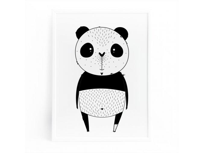 PLAKÁT . panda