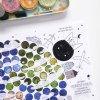 PUNTÍKOVÁNKY . planety s ilustracemi