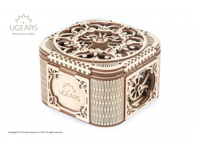 Ugears Treasure box 3+