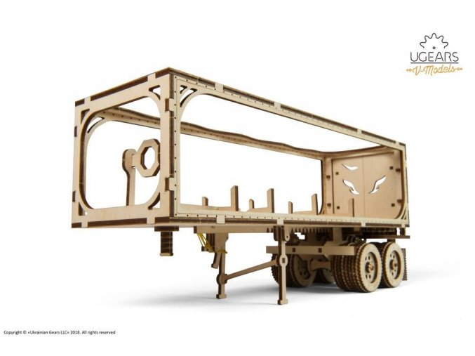 Ugears Heavy Boy Truck VM 03 Trailer 1 max 1000