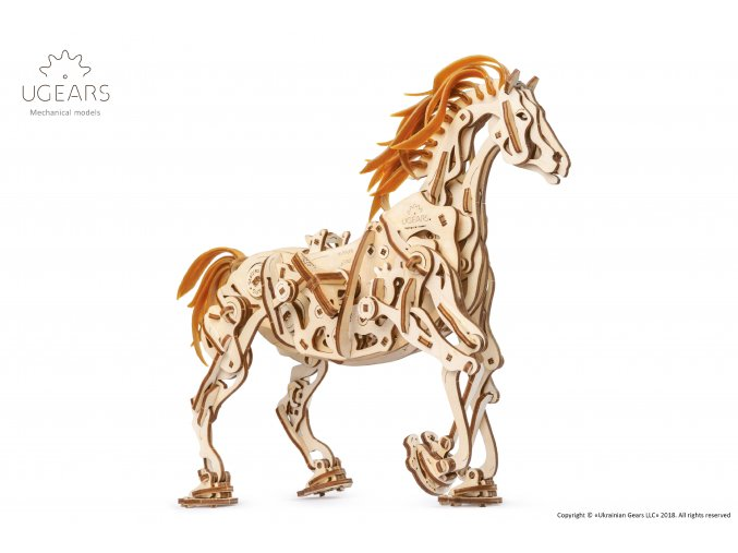 Ugears Horse Mechanoid Model Kit 1