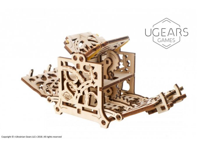 2 Ugears Dice Keeper Mechanical device max 1000