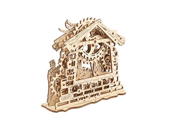 ugears mechanical model nativity scene 03 max 1100