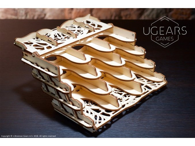 5 Card Holder Ugears Games max 1100