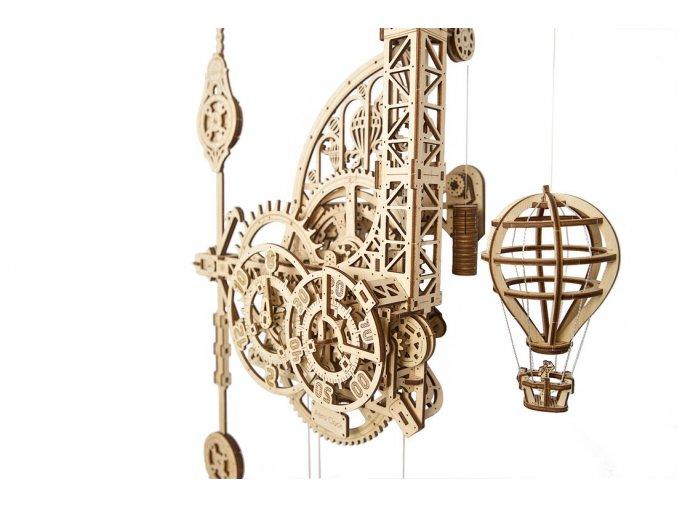 ugears aero clock Wall clock with pendulum 6 max 1100