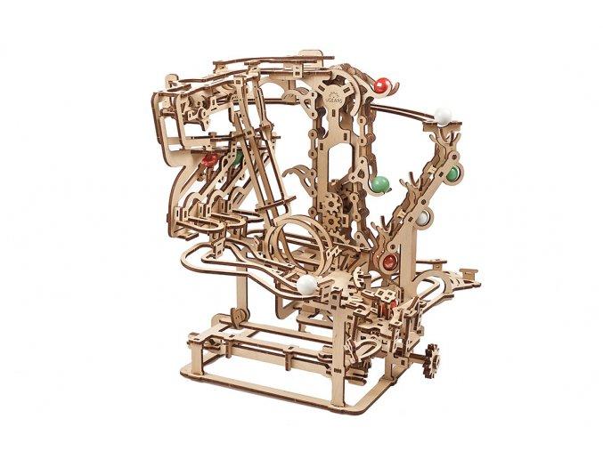 Ugears marble run Chain Hoist model kit 02 max 1100