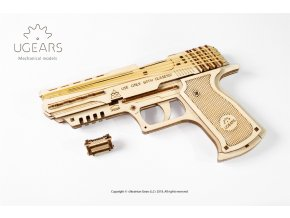 Ugears Handgun Mechanical Model 11 max 1000