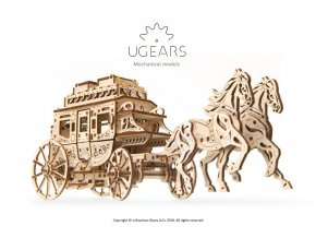 Ugears Stagecoach model 2 max 1000