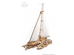 Ugears Trimaran Merihobus Model Kit 22