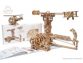 Ugears Aviator Model Kit 2