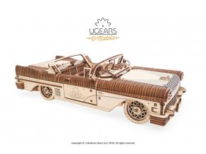 3 Ugears Dream Cabriolet VM 05 mechanical model kit max 1000