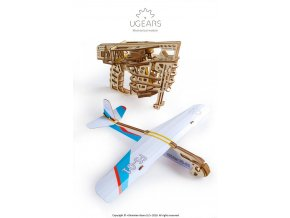 ugears flight starter mechanical model36 max 1000