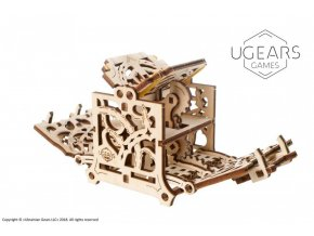 2 Ugears Dice Keeper Mechanical device max 1000