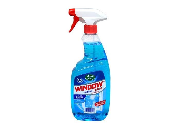 Čistič na okna Window Plus originál ammonium 750 ml