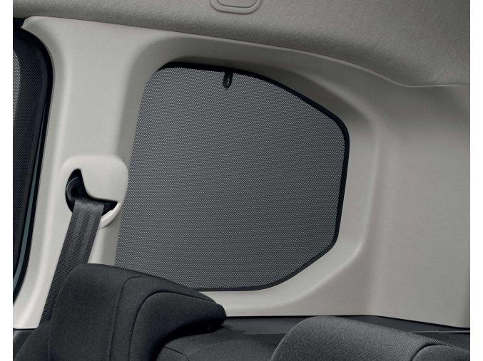 Sluneční clony pro zadní boční okna Citroën Berlingo (K9), verze L1