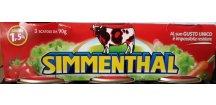 SIMMENTHAL,,CENA ZA 1 KUS (90g), HOVĚZÍ VÝBĚROVÉ MASO V KONZERVĚ  1 KUS 90 g