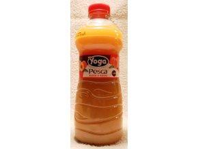 DŽUS YOGA, broskev, 1 litr, bez koncentrátu z vlastní šťávy 50% ovoce.