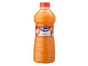 DŽUS,YOGA ACE 1 litr, POMERANČ, mrkev, citron, bez koncentrátu z vlastní štávy 30% ovoce