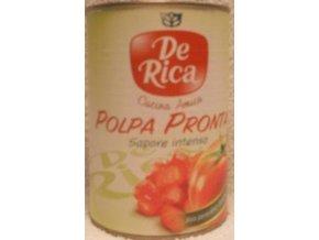 DE RICA,POLPA PRONTA, drcenná rajská omáčka, 400g