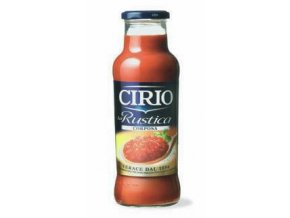 CIRIO, RUSTICA,drcenná rajská omáčka, 680g, HUSTÁ