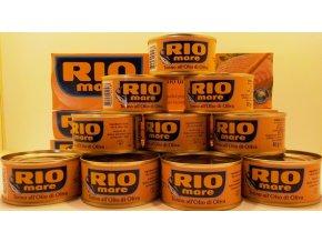 RIO MARE tuňák v olivovém oleji,  1ks 80g cena za 1 kus